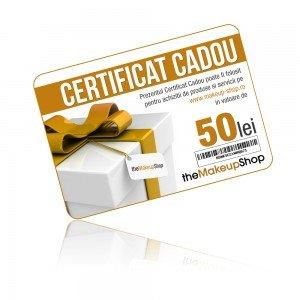 Certificat cadou mks 50 lei