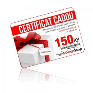Certificat cadou mks 150 lei