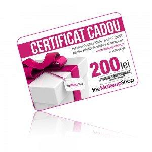Certificat cadou mks 200 lei