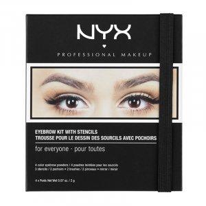 Eyebrow Kit with Stencils