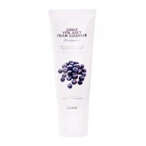 Lioele Vita Juicy Foam Cleanser Blueberry