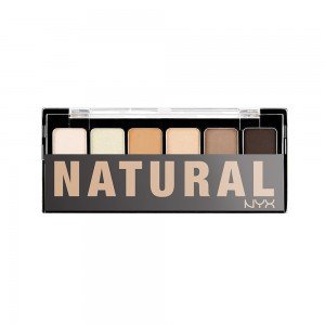 Paleta Farduri NYX The Natural Shadow