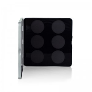 Paleta magnetica goala Glazel Visage 6x