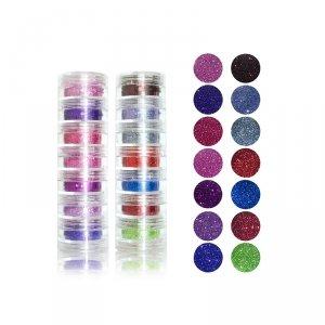 Set de glittere pulbere Glazel Visage Glitters 1-14