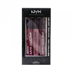 Set Rujuri lichide mate NYX Liquid Suede Cream 03
