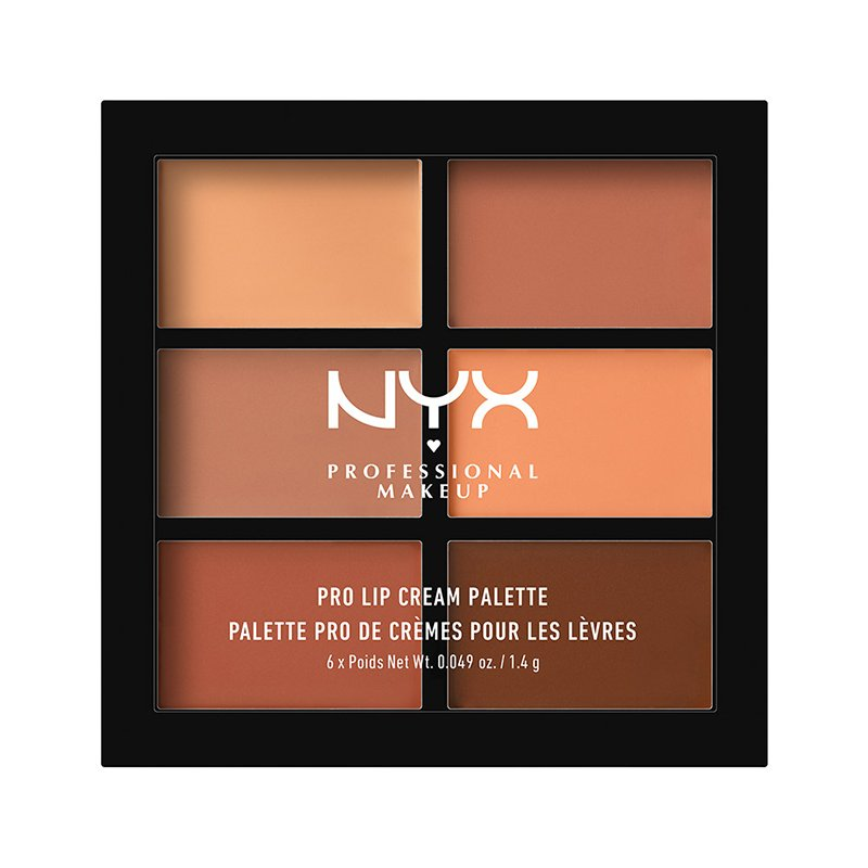 Paleta Rujuri Nyx Professional Makeup Pro Lip Cream Palette