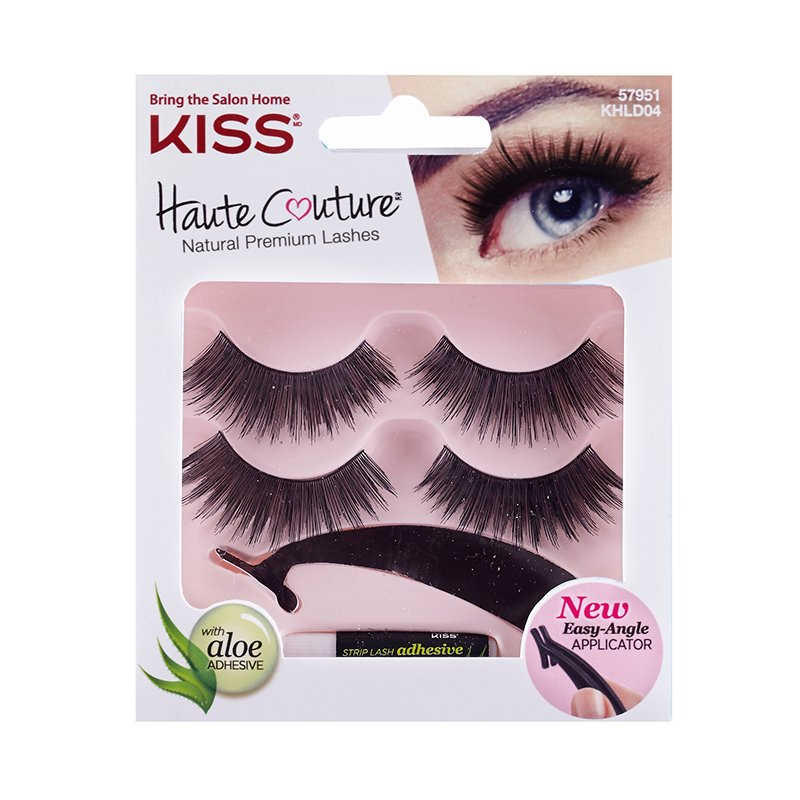dccaa831a42 Set Gene False KissUSA Haute Couture Duo Pack Lashes Coy - theMakeupShop