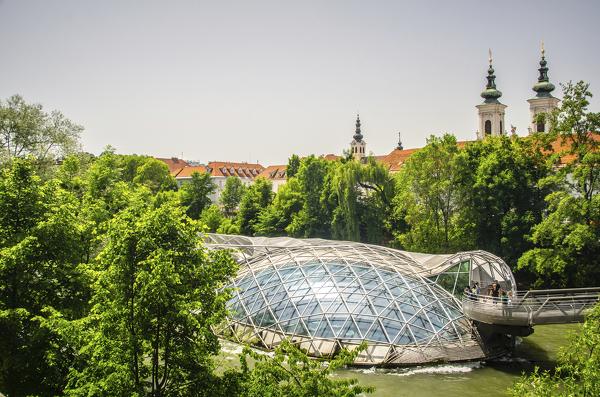 Murinsel in Graz
