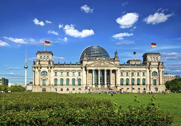Symbol deutscher Geschichte: das Reichstagsgebäude