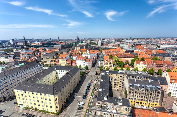 Stadtansicht von Kopenhagen