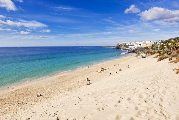 Strand von Morro Jable auf Fuerteventura