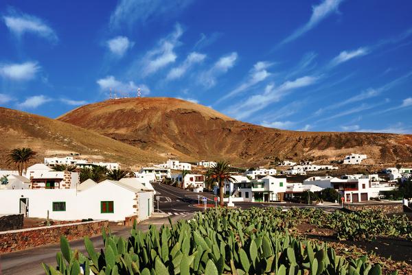 Femés im Süden von Lanzarote
