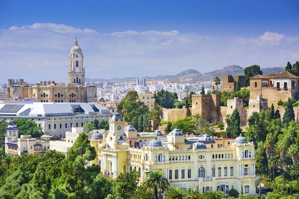 Málaga mit Santa Iglesia Catedral Basílica de la Encarnación