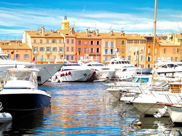 Yachthafen von St. Tropez