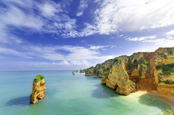Küste bei Lagos an der Algarve