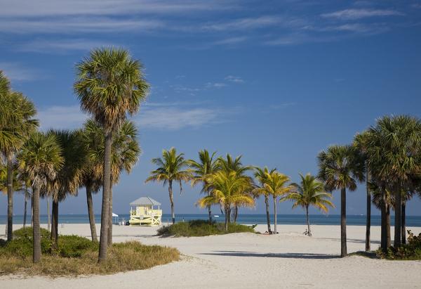 Biscayne Bay im Südosten Floridas