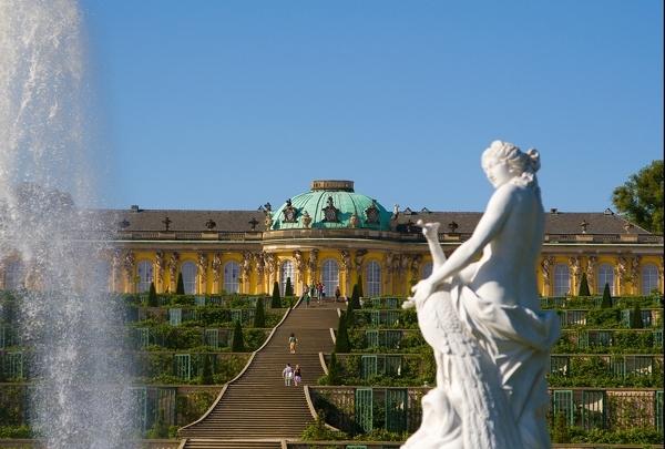 Das Wahrzeichen von Potsdam: Sanssouci