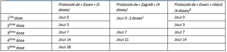 Vaccin Chiot Calendrier.Rabipur Mesvaccins Net