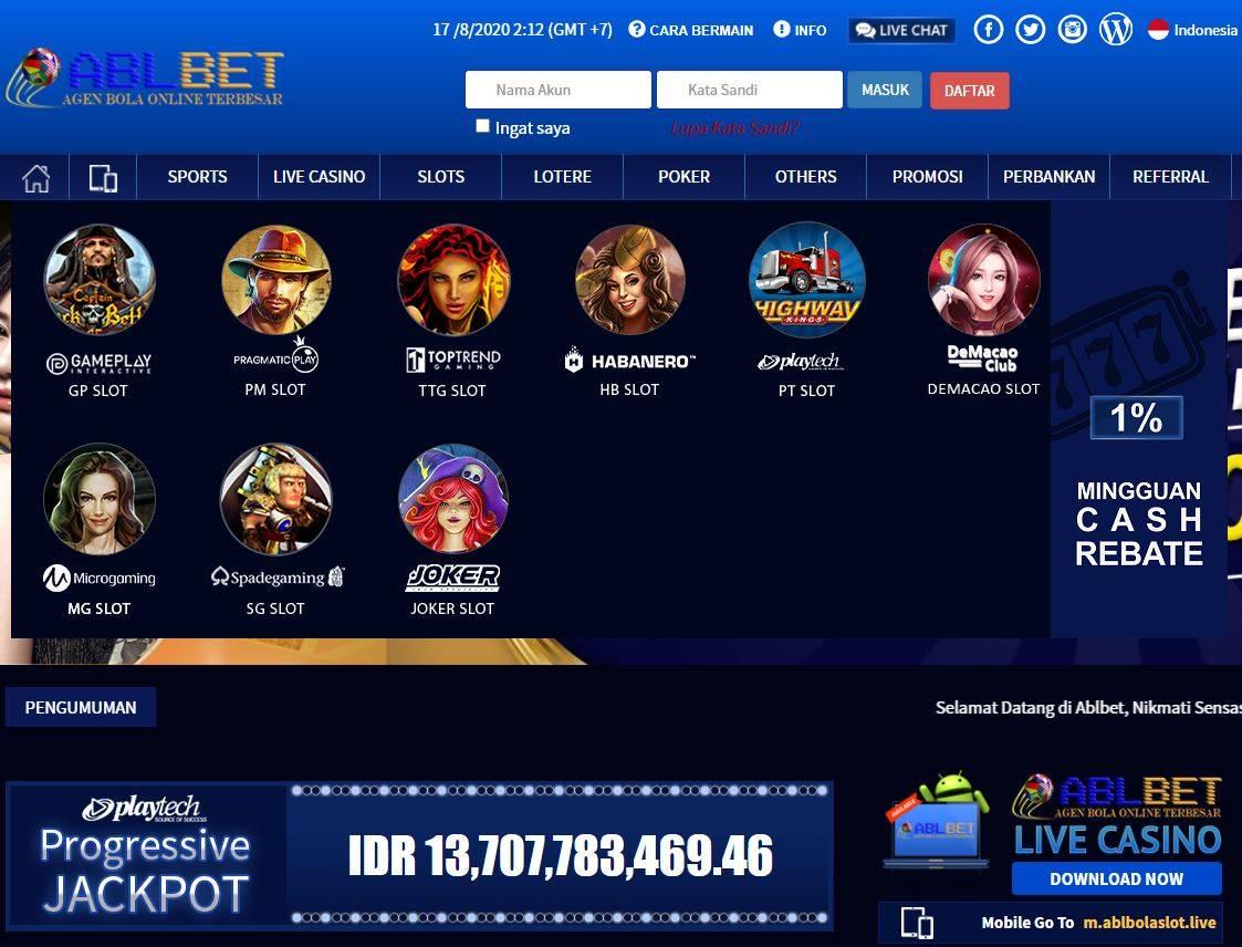 Situs Judi Slot Terbaru Dan Terpercaya 2020 Ablbet Biglietti 23 Settembre 2020 05 00 Metooo