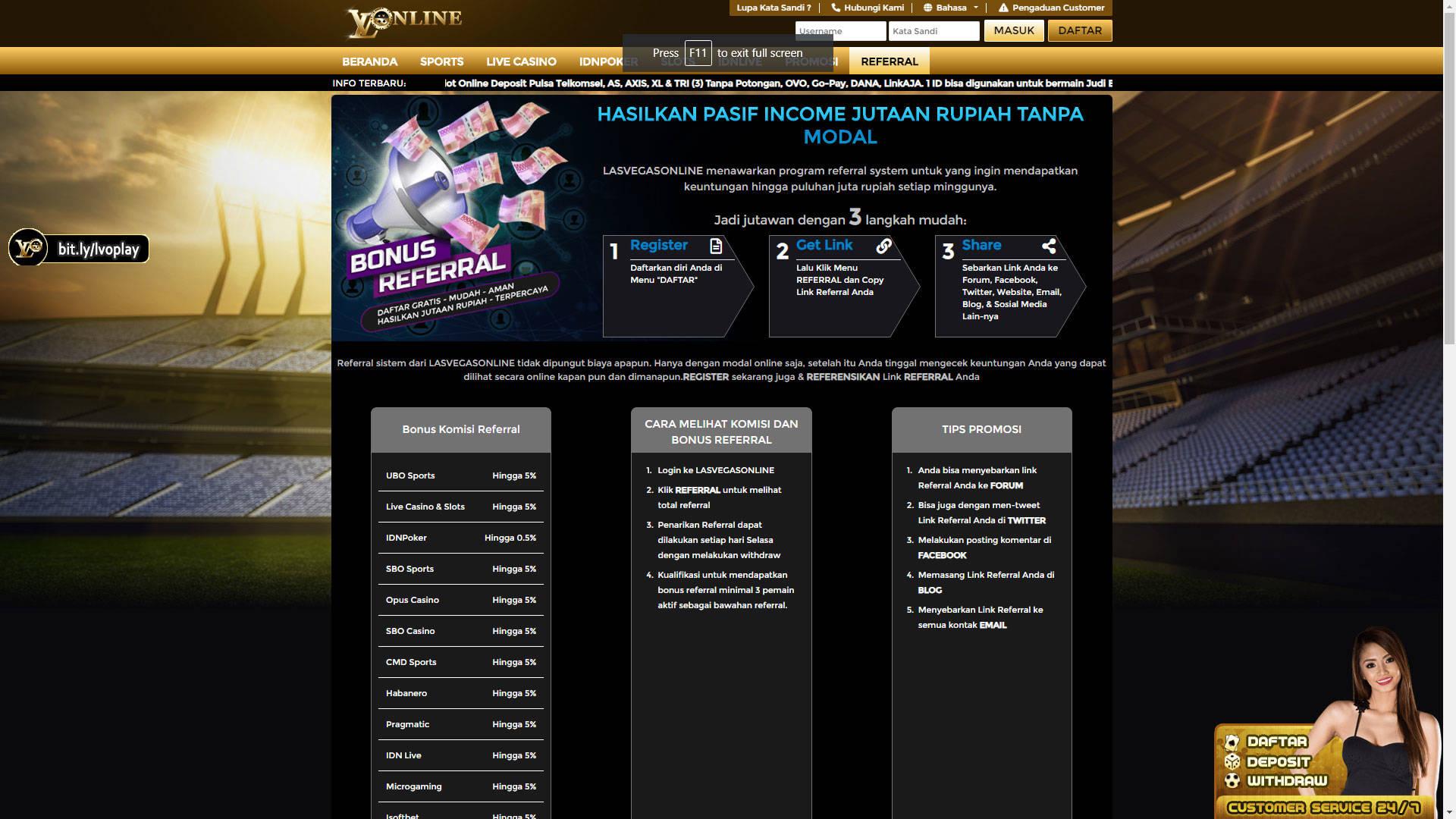 Lvobet Whitelabel Situs Bandar Judi Online Terpercaya Yang Menerima Deposit Via Pulsa Tanpa Potongan Telkomsel As Xl Axis Tri Dan Bisa Klaim Bonus Deposit Biglietti 25 Luglio 2020 13 45 Metooo