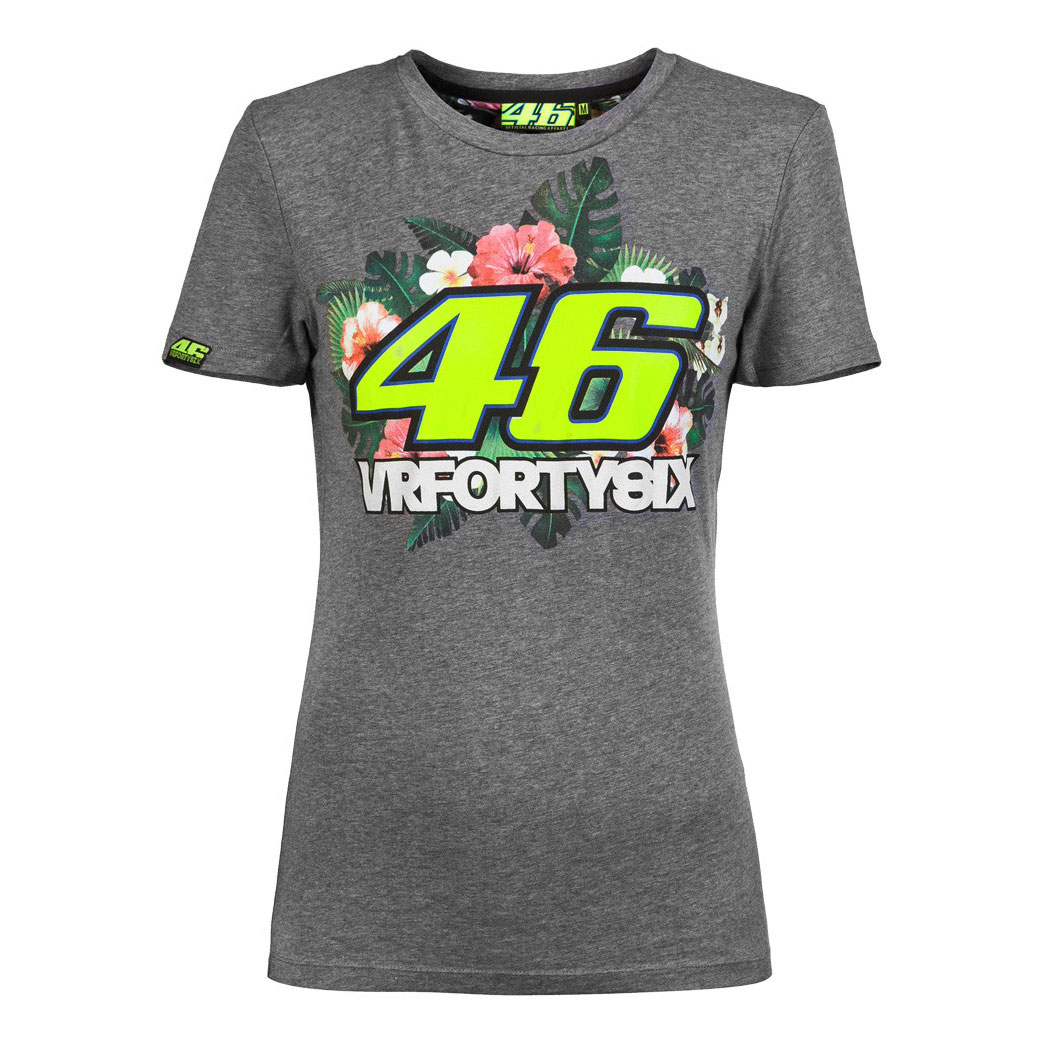Valentino 2016 Gris 46 Camiseta Rossi Mujer Motorbike Store En 3lcTK1FJ