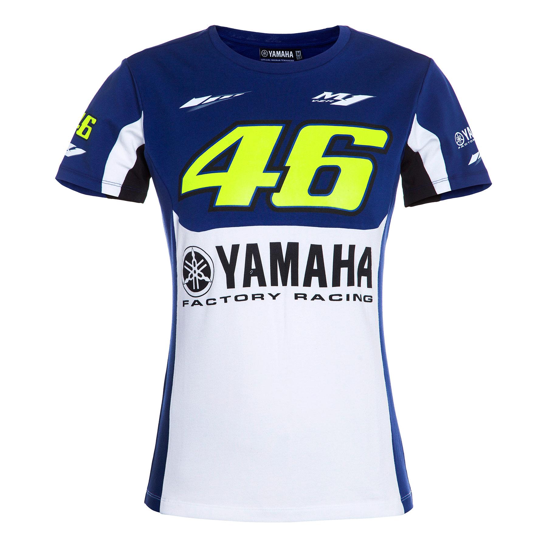 Camiseta VALENTINO ROSSI 2016 - Yamaha mujer en Motorbike Store 53b83d0c80914