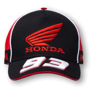Gorra MARC MARQUEZ Honda negra - homca146204