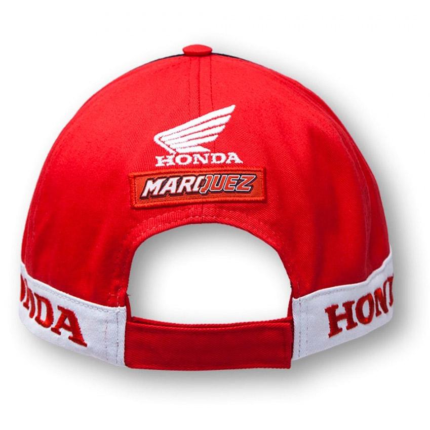 roja Gorra de Honda de Marc M/árquez