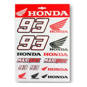 Pegatinas MARC MARQUEZ Honda - houst149803