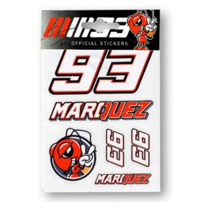 Pegatinas MARC MARQUEZ pequenas - mmust162703