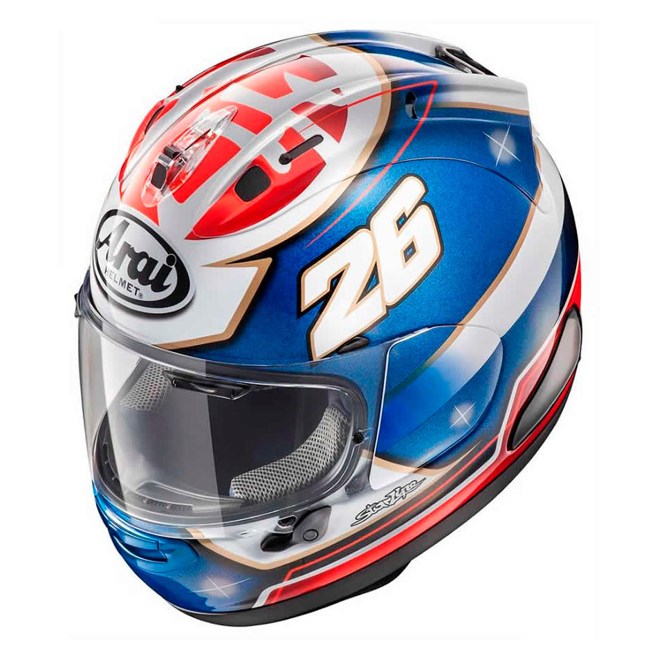 casco arai rx 7v pedrosa samurai en motorbike store. Black Bedroom Furniture Sets. Home Design Ideas