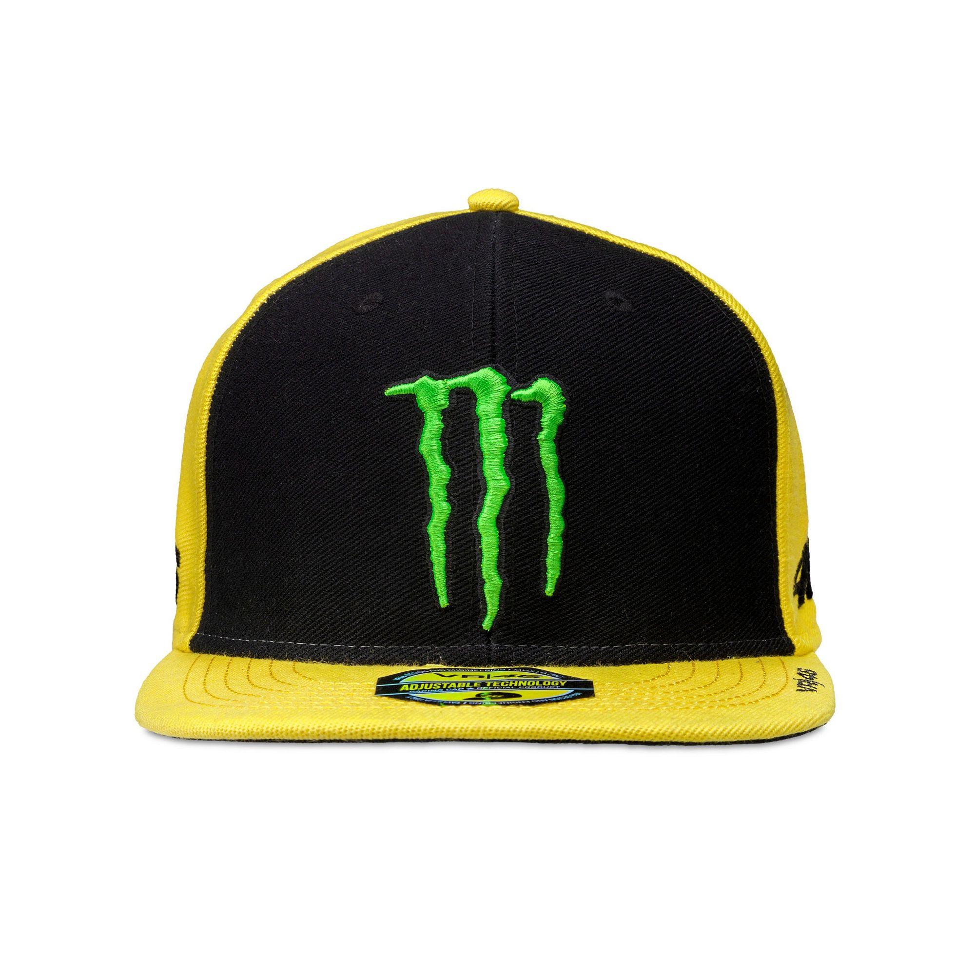 d016c85ce296d Gorra Valentino Rossi Monster amarilla 2017 en Motorbike Store