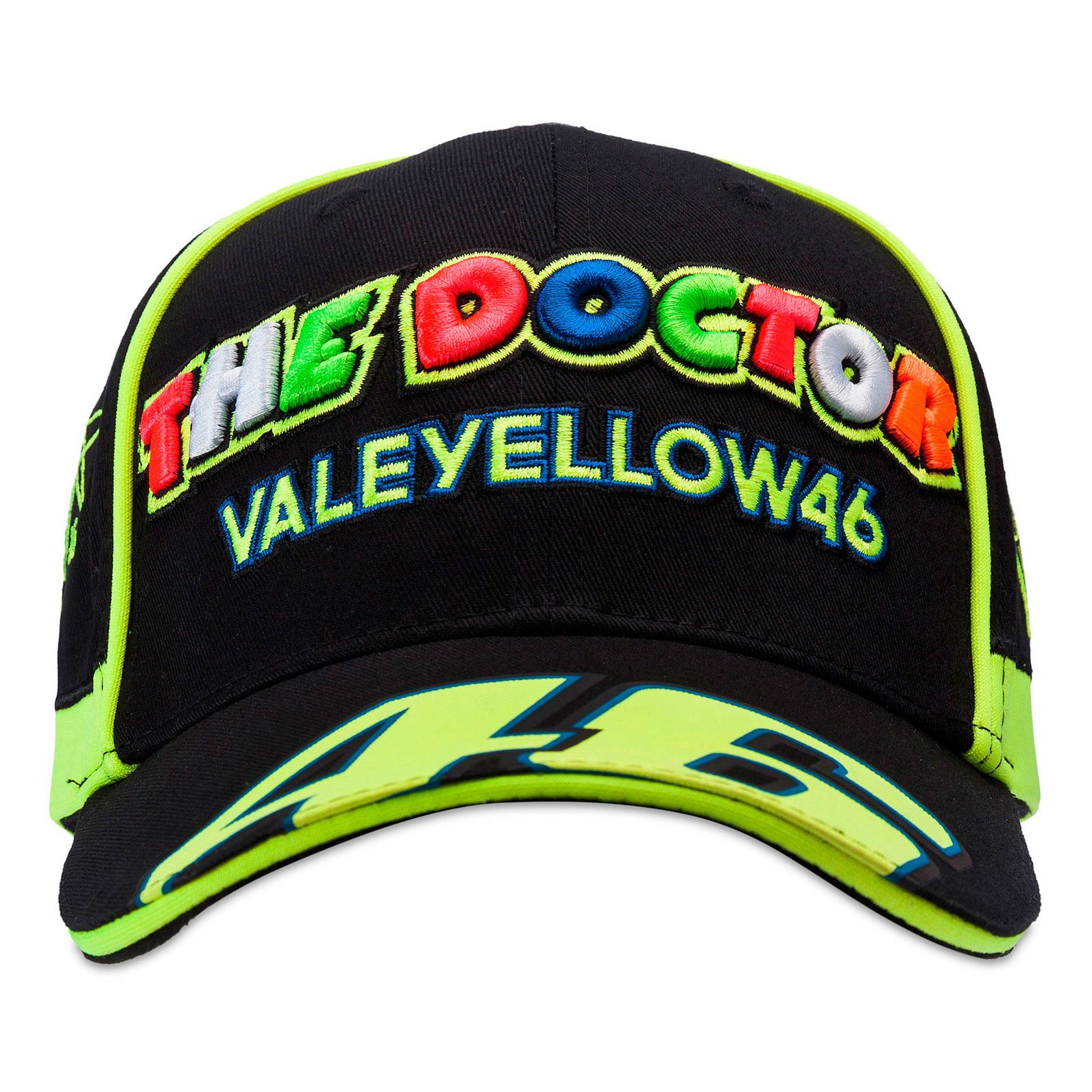 dffb92fe9a259 Gorra Valentino Rossi The Doctor 46 Negra 2017 en Motorbike Store