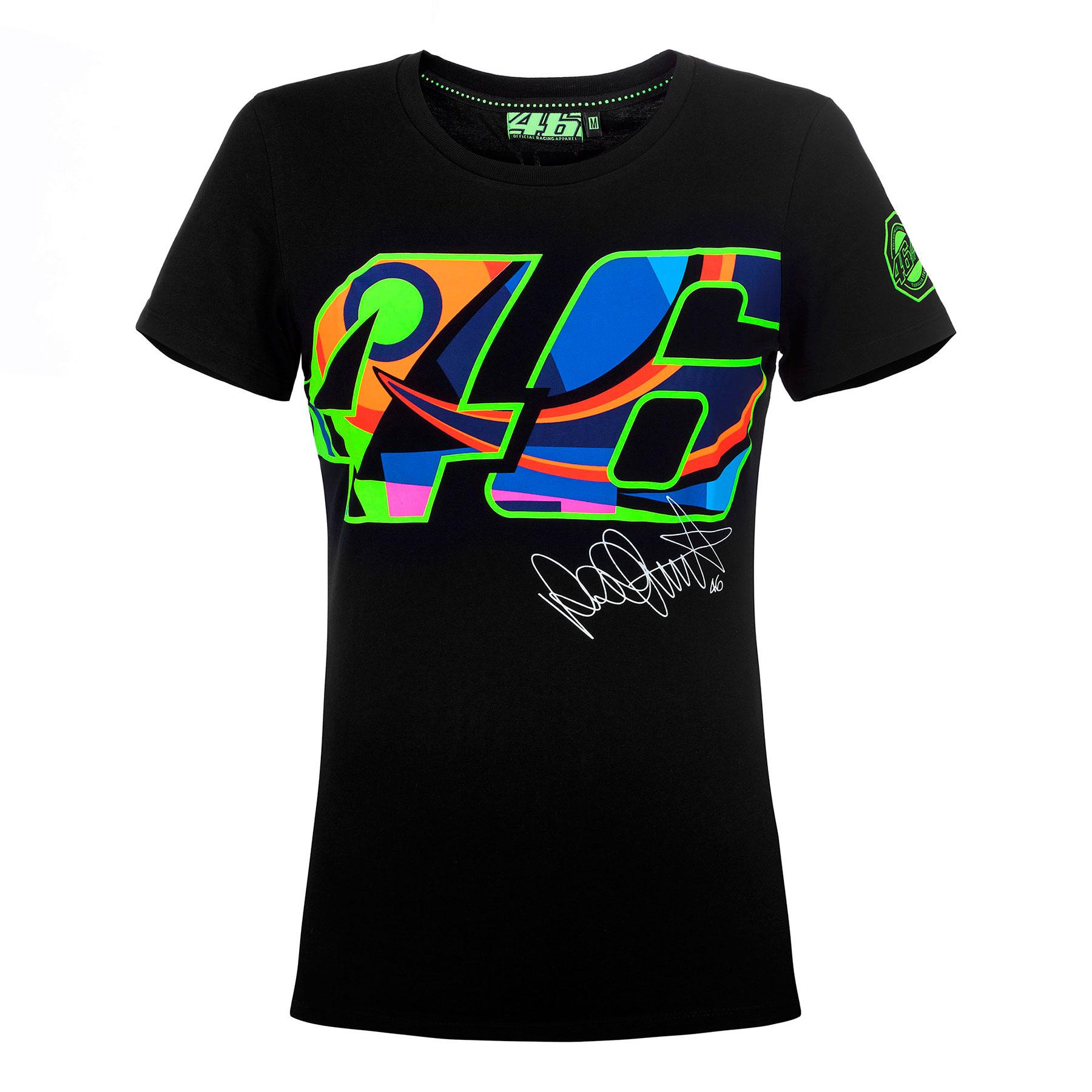 9300e77993 Camiseta Valentino Rossi Mujer 46 Negra 2017 en Motorbike Store