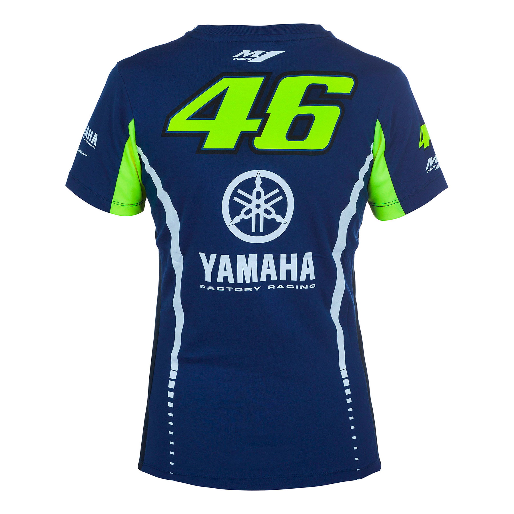 8195dad495 Camiseta Valentino Rossi Yamaha VR46 Mujer Oficial 2017 en Motorbike ...