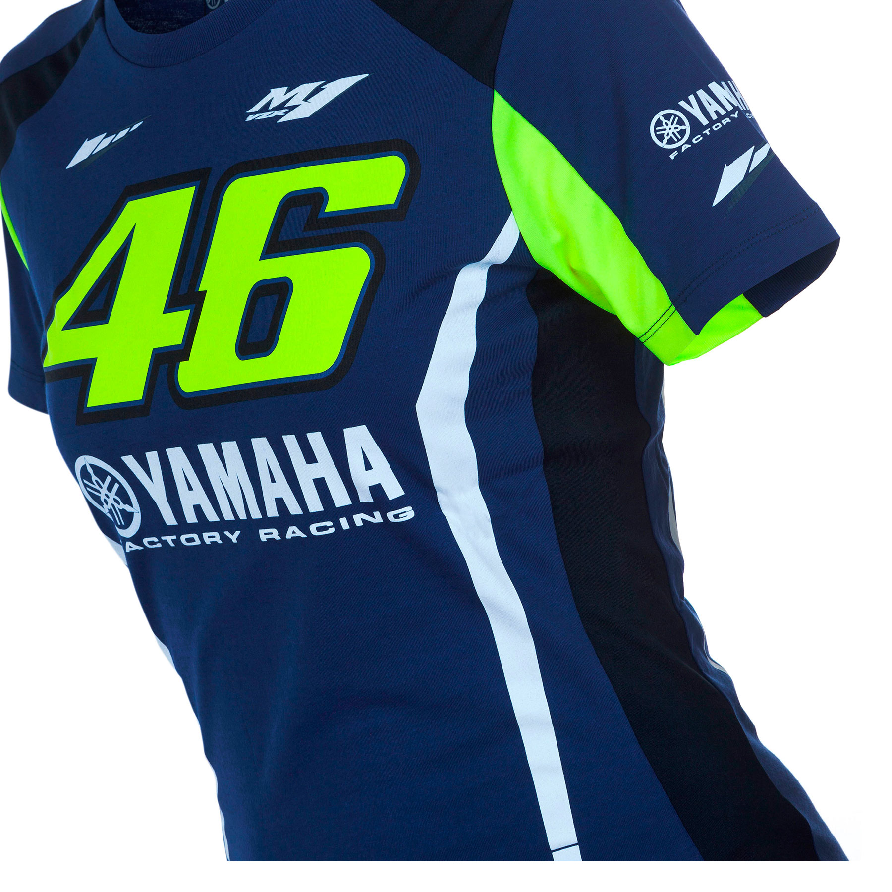 Camiseta Valentino Rossi Yamaha VR46 Mujer Oficial 2017 en Motorbike ... a2363d0c11a27