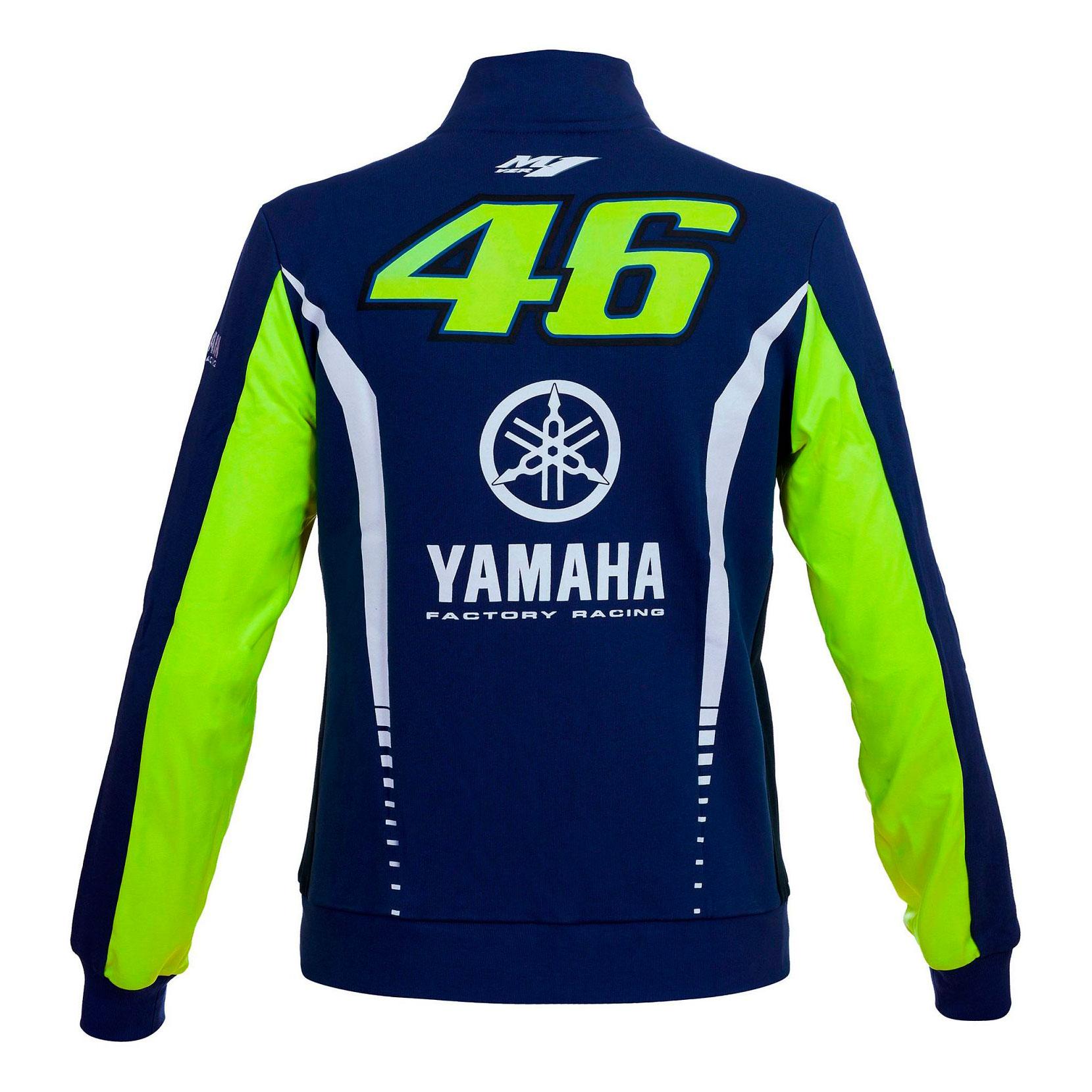 Motorbike Vr46 En 2017 Mujer Sudadera Yamaha Oficial Valentino Rossi q6x88Tgt