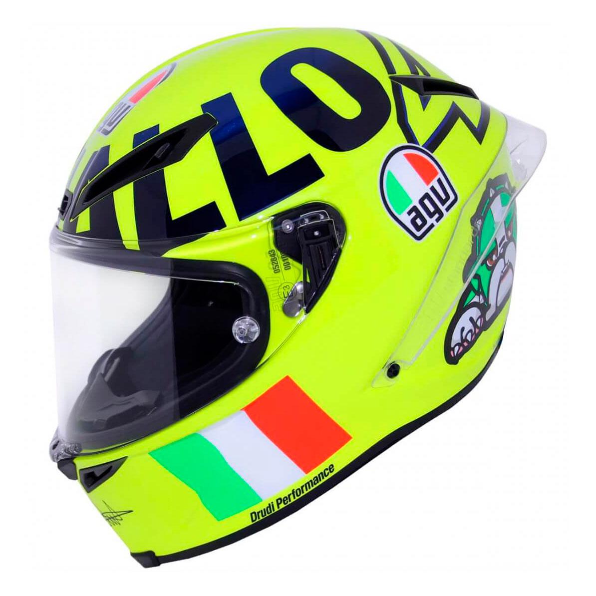Casco AGV Corsa R Rossi Mugello Pinlock en Motorbike Store 09652c0561d