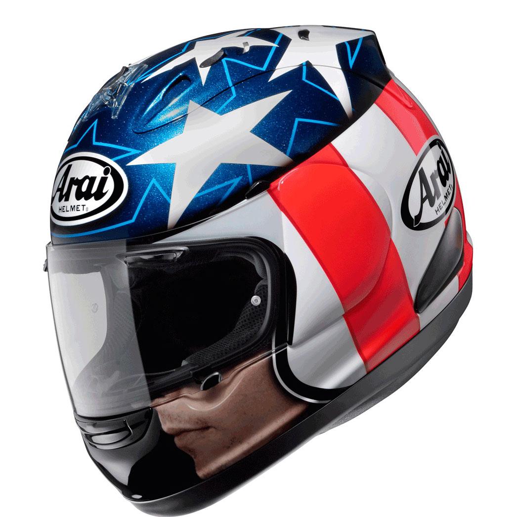 Casco Arai Rx 7 Gp Hayden Easy Rider En Motorbike Store