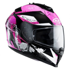 Casco HJC IS-17 Pink Rocket - 1