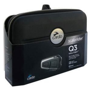 Intercomunicador Cardo Scala Rider Q3 Multiset - 1