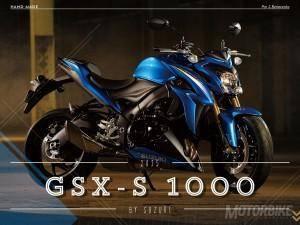 Suzuki GSX-S 1000 - Motorbike Magazine #01