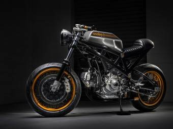 @Andrew Barkules / Bimota Mantra «DB3.5» By Analog Motorcycles
