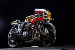 Fotos de Callo Albanese y Gigi Soldano / Honda CB 750 By Vibrazioni Art Desing