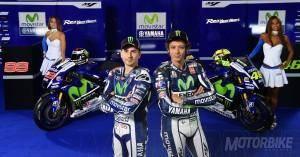 Presentación Yamaha Movistar MotoGP 2015 - Rossi y Lorenzo