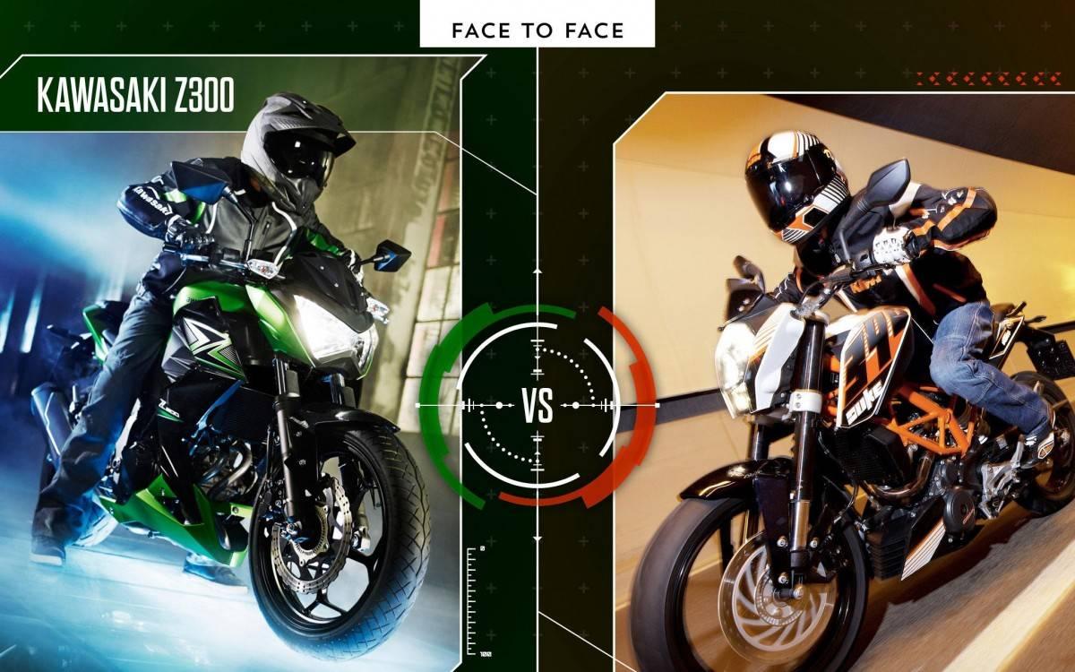 Kawasaki Z300 vs KTM 390 Duke - Motorbike Magazine #MBK01
