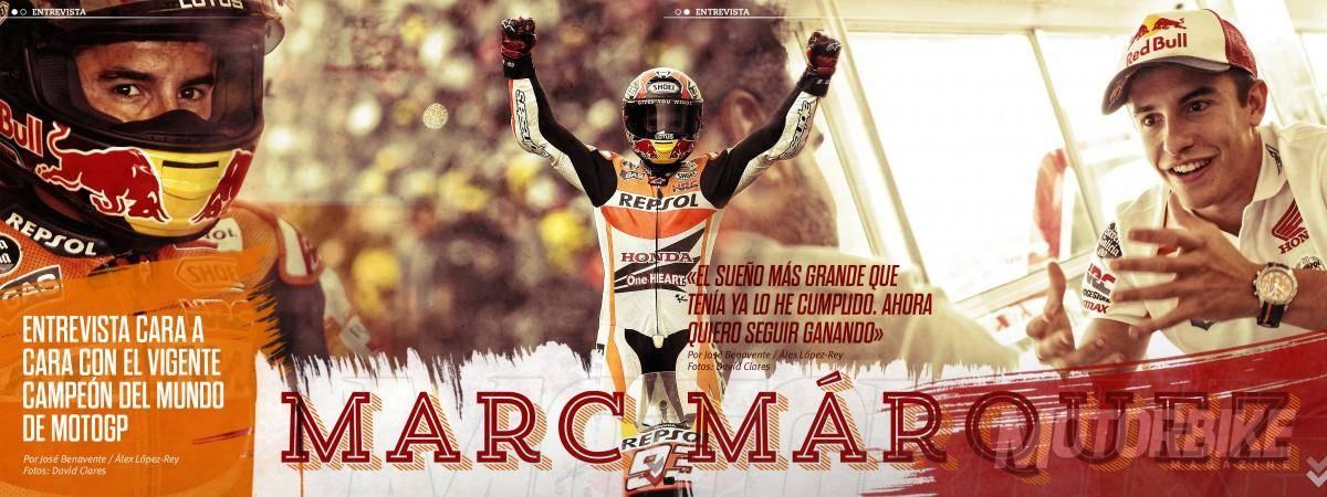 Marc Márquez - Motorbike Magazine