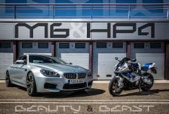 BMW HP4 vs. BMW M6 Grand Coupé - Motorbike Magazine