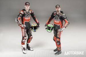 Chaz Davies y Davide Giugliano Ducati World Superbike 2015 - Motorbike Magazine