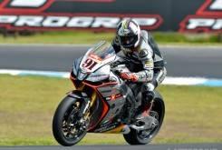 Leon Haslam Aprilia WSBK Phillip Island 2015 - Motorbike Magazine